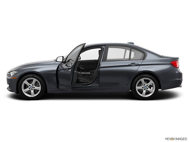 2014 BMW 3 Series Driver's side profile with drivers side door open