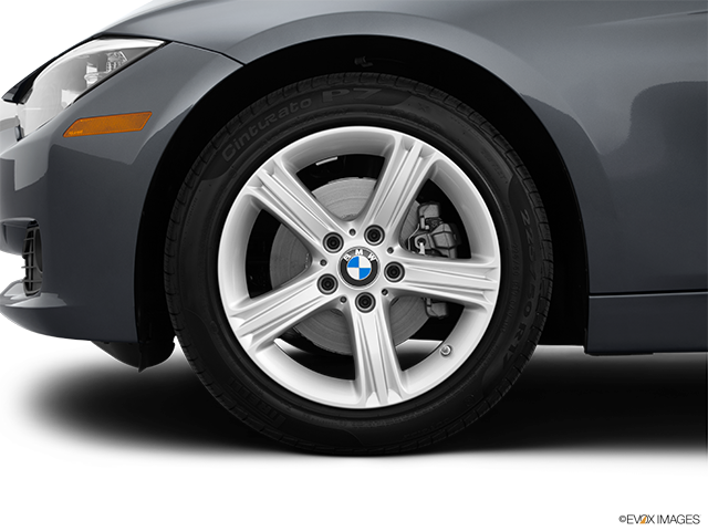 2014 BMW 3 Series Front Drivers side wheel at profile