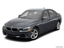 2014 BMW 3 Series Front angle view