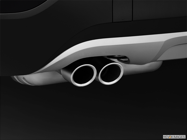 2014 BMW X1 Chrome tip exhaust pipe