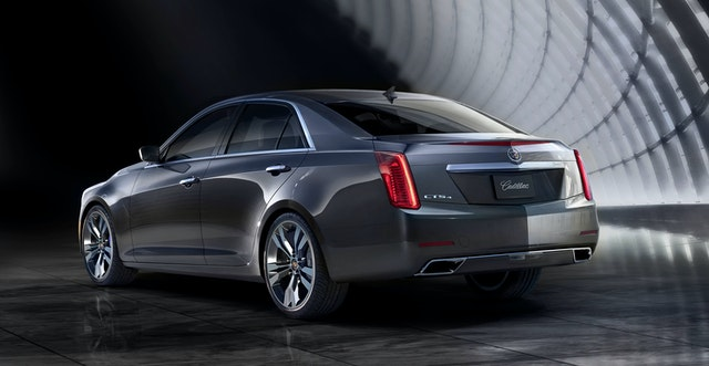 2014 Cadillac CTS Exterior