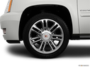 2014 Cadillac Escalade Front Drivers side wheel at profile