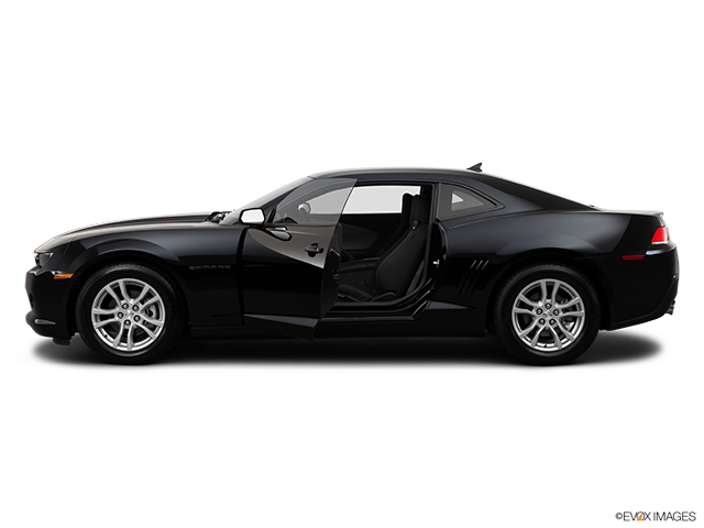 2014 Chevrolet Camaro Driver's side profile with drivers side door open