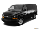 2014 Chevrolet Express Cargo Front angle view