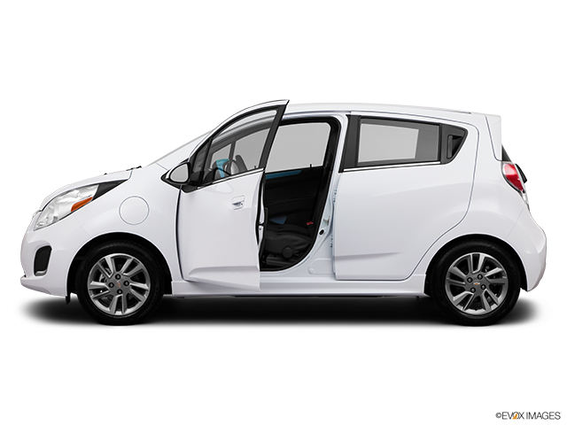 2014 Chevrolet Spark EV Driver's side profile with drivers side door open