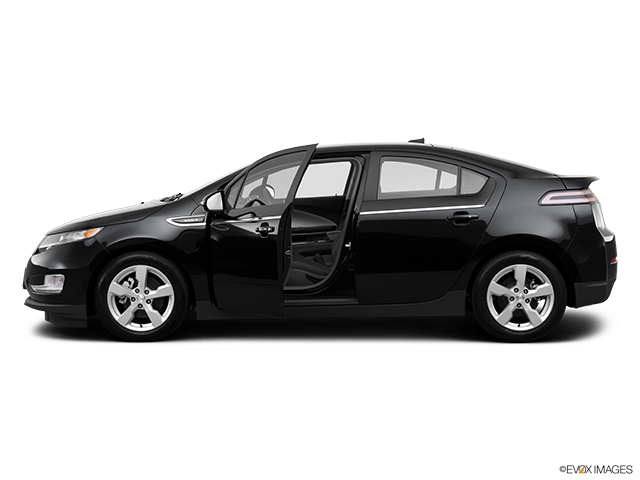 2014 Chevrolet Volt Driver's side profile with drivers side door open