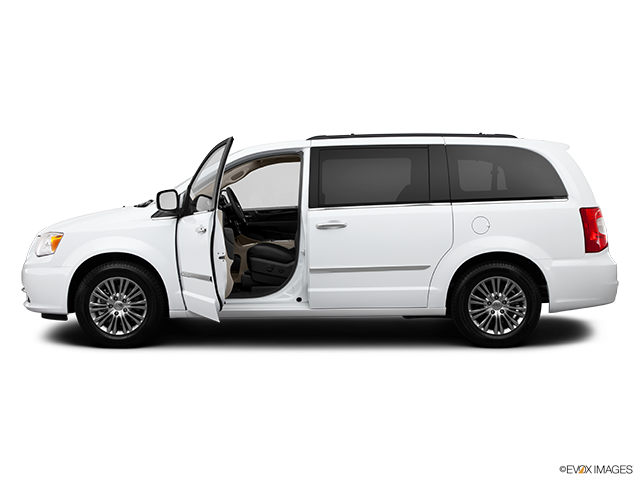 2014 Chrysler Town and Country Driver's side profile with drivers side door open