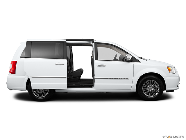 2014 Chrysler Town and Country Passenger's side view, sliding door open (vans only)