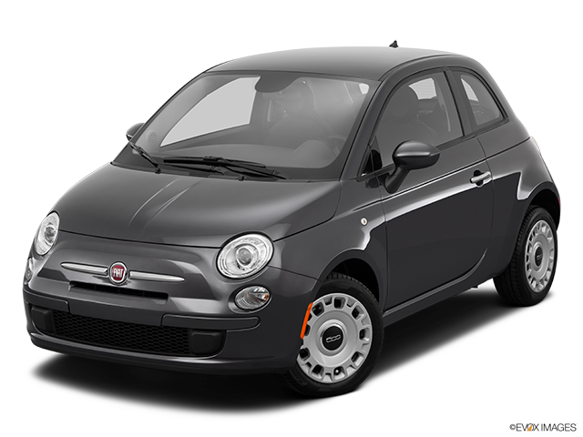 2014 FIAT 500 Front angle view