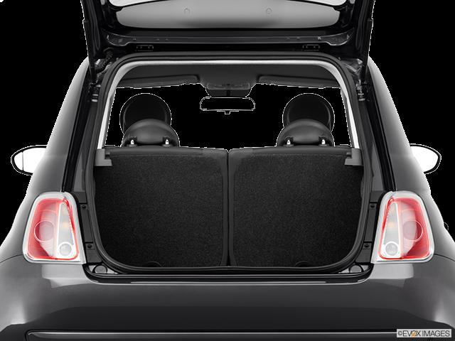 2014 FIAT 500 Trunk open
