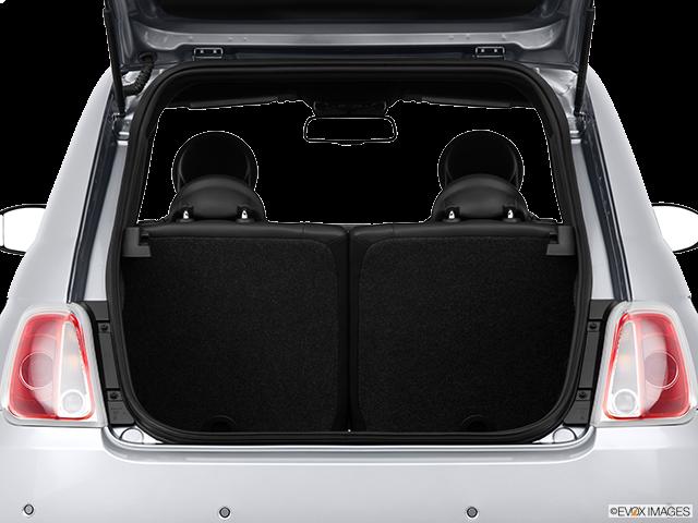 2014 FIAT 500e Trunk open