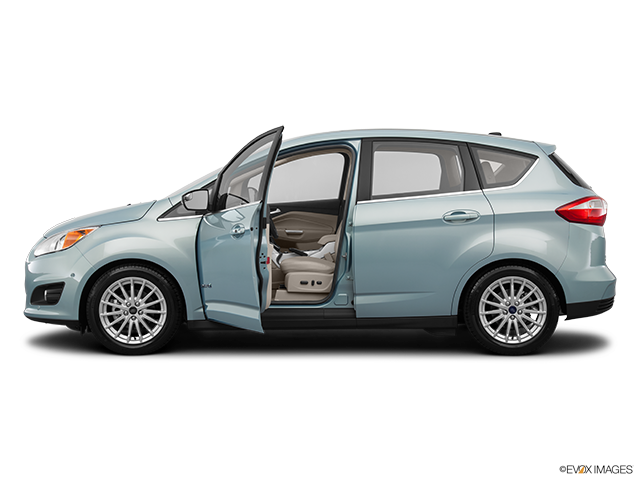 2014 Ford C-MAX Hybrid Driver's side profile with drivers side door open
