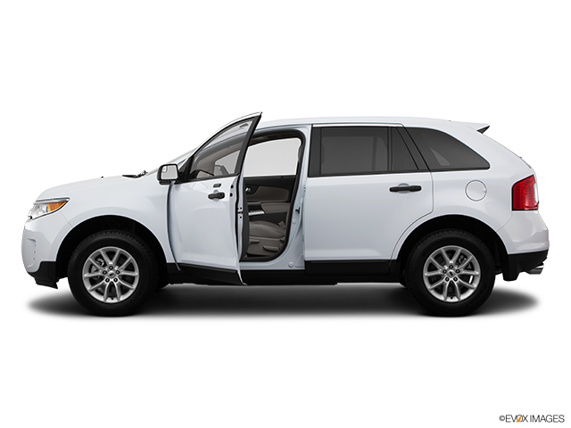 2014 Ford Edge Driver's side profile with drivers side door open