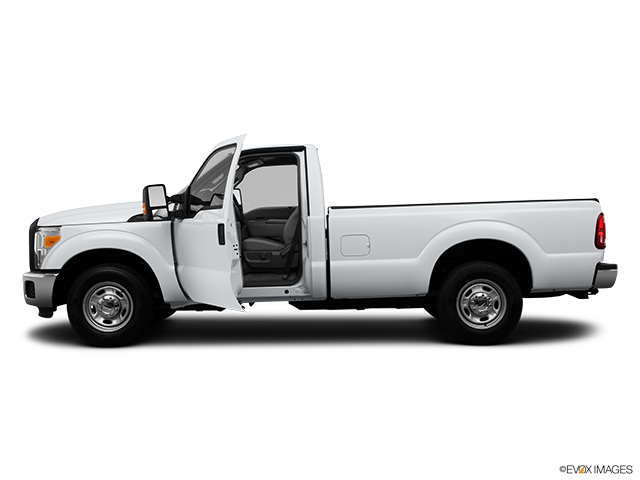 2014 Ford F-250 Super Duty Driver's side profile with drivers side door open