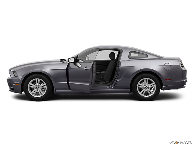 2014 Ford Mustang Driver's side profile with drivers side door open