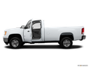 2014 GMC Sierra 2500HD Driver's side profile with drivers side door open