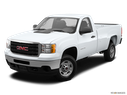 2014 GMC Sierra 2500HD Front angle view