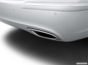 2014 Hyundai Equus Chrome tip exhaust pipe
