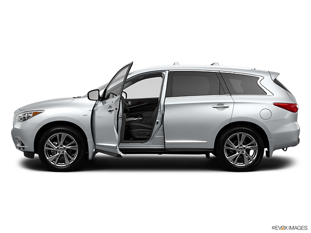 2014 INFINITI QX60 Driver's side profile with drivers side door open