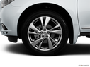 2014 INFINITI QX60 Front Drivers side wheel at profile