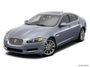 2014 Jaguar XF Front angle view