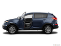 2014 Kia Sportage Driver's side profile with drivers side door open