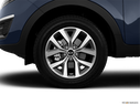 2014 Kia Sportage Front Drivers side wheel at profile