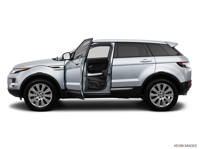 2014 Land Rover Range Rover Evoque Driver's side profile with drivers side door open