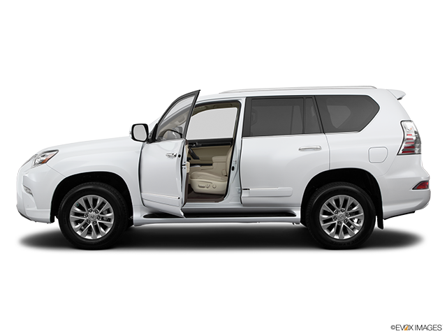 2014 Lexus GX 460 Driver's side profile with drivers side door open