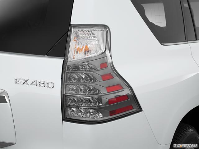 2014 Lexus GX 460 Passenger Side Taillight