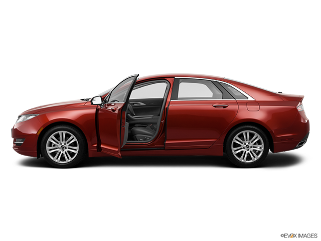 2014 Lincoln MKZ Driver's side profile with drivers side door open