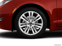 2014 Lincoln MKZ Front Drivers side wheel at profile