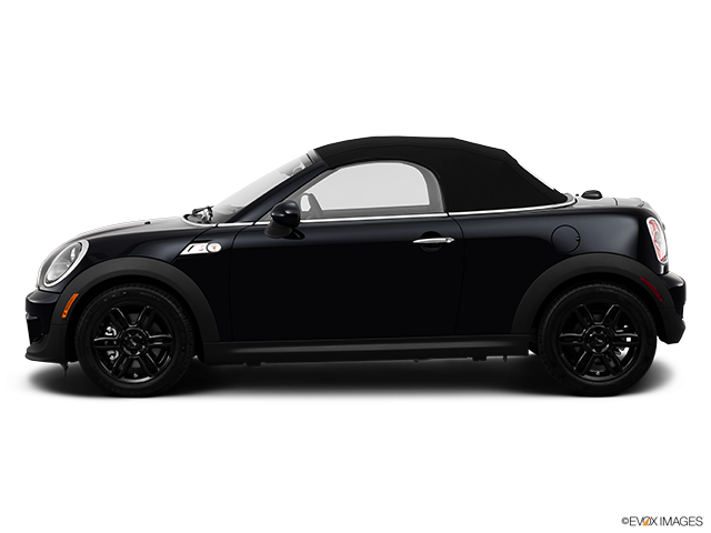 2014 MINI Roadster Drivers side profile, convertible top up (convertibles only)
