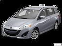 2014 Mazda Mazda5 Front angle view