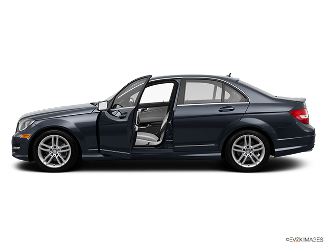 2014 Mercedes-Benz C-Class Driver's side profile with drivers side door open