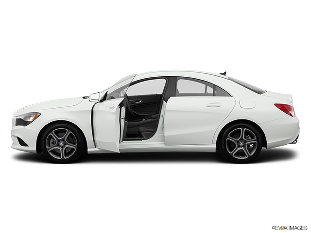 2014 Mercedes-Benz CLA Driver's side profile with drivers side door open