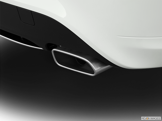 2014 Mercedes-Benz CLA Chrome tip exhaust pipe