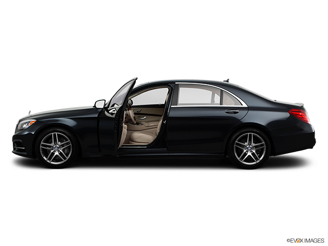 2014 Mercedes-Benz S-Class Driver's side profile with drivers side door open