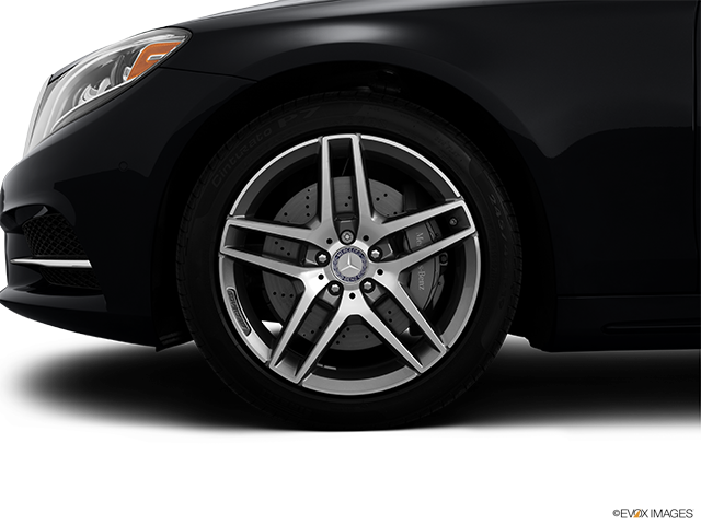 2014 Mercedes-Benz S-Class Front Drivers side wheel at profile