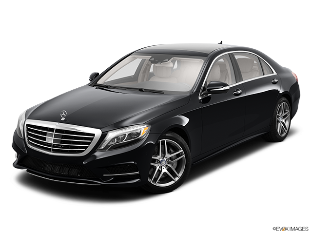 2014 Mercedes-Benz S-Class Front angle view