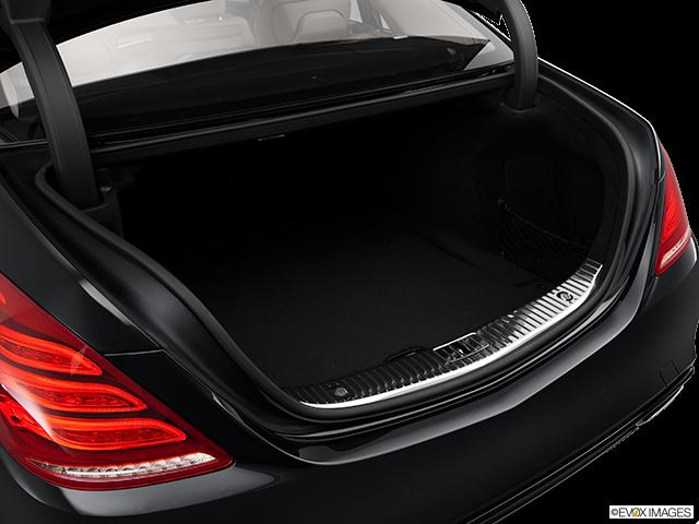 2014 Mercedes-Benz S-Class Trunk open