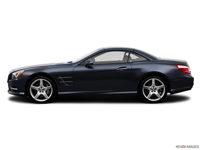 2014 Mercedes-Benz SL-Class Drivers side profile, convertible top up (convertibles only)