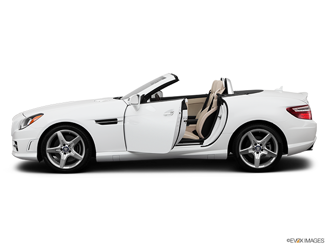 2014 Mercedes-Benz SLK Driver's side profile with drivers side door open
