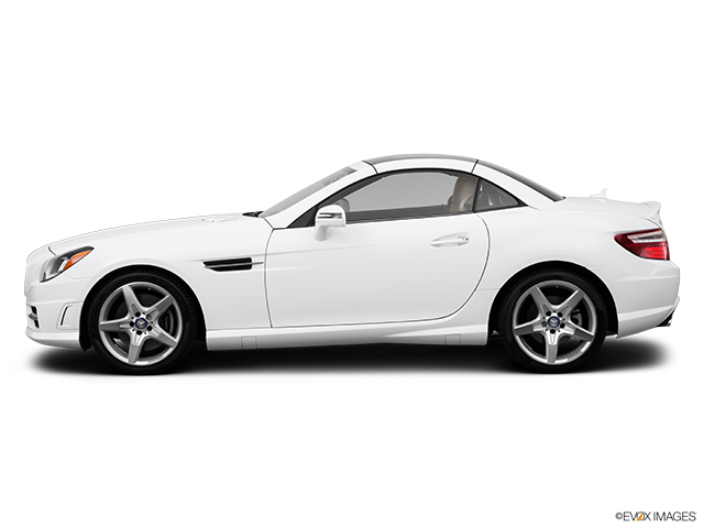 2014 Mercedes-Benz SLK Drivers side profile, convertible top up (convertibles only)