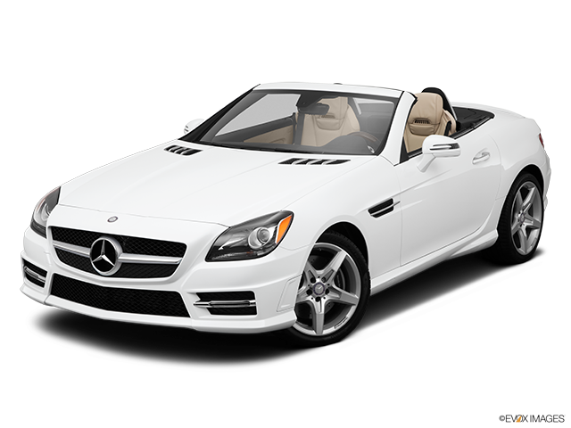 2014 Mercedes-Benz SLK Front angle view