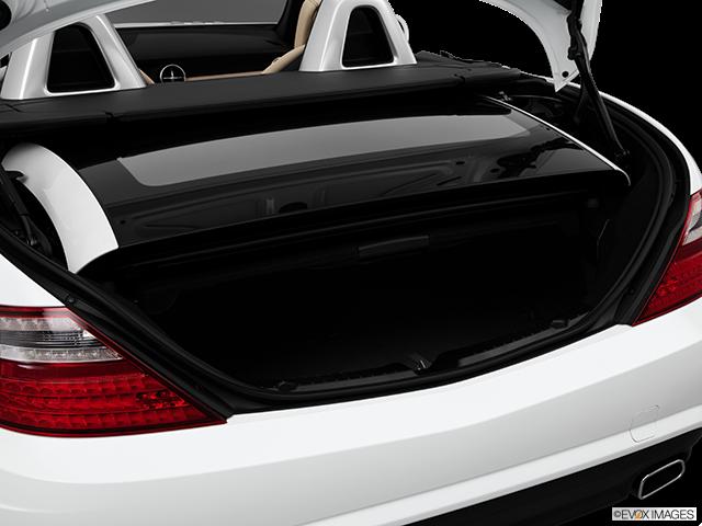 2014 Mercedes-Benz SLK Trunk open