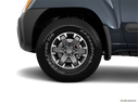 2014 Nissan Xterra Front Drivers side wheel at profile