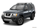2014 Nissan Xterra Front angle view