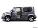 2014 Nissan cube Driver's side profile with drivers side door open