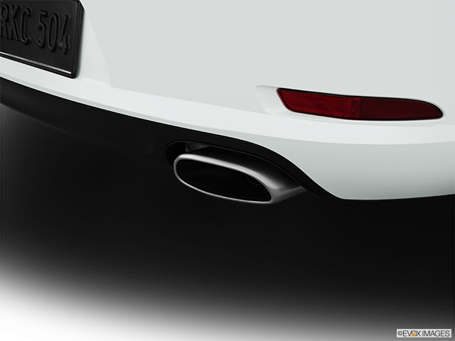 2014 Porsche 911 Chrome tip exhaust pipe